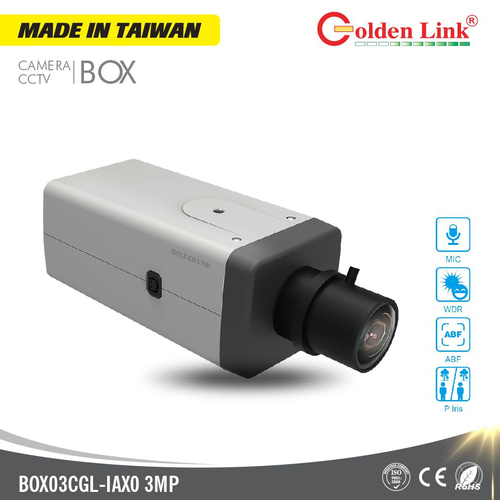 Camera IP BOX03CGL-IAX0 3MP