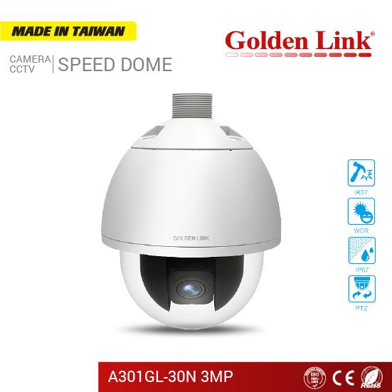 SPEED DOME - Cáp mạng, cáp đồng trục, cáp quang Golden Link - MADE