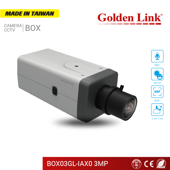 Camera IP BOX03GL-IAX0 3MP