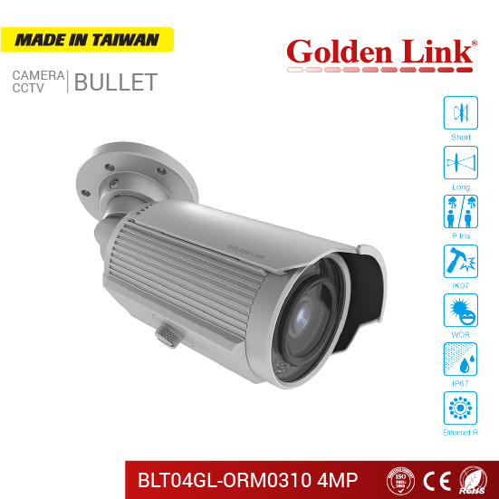 Camera IP BLT04GL-ORM0310 4MP