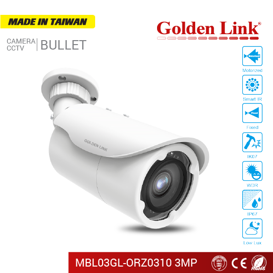 Camera IP MBL03GL-ORZ0310 3MP