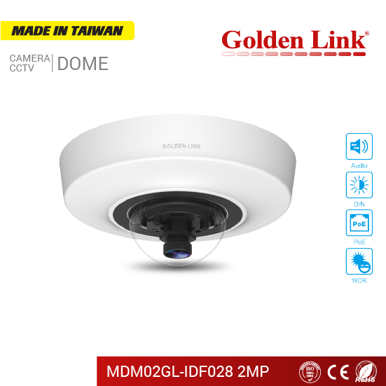 Camera IP MDM02GL-IDF028 2MP