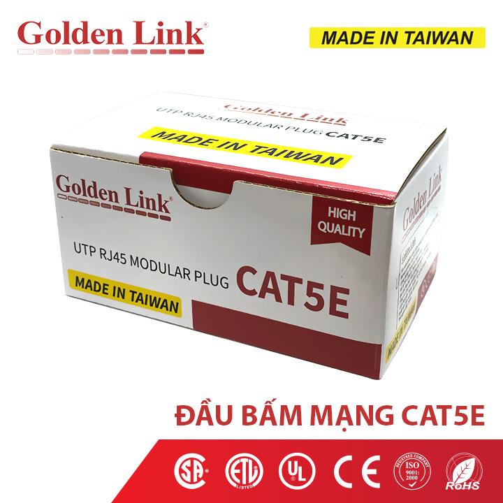 Dây cáp mạng Golden Link MADE IN TAIWAN