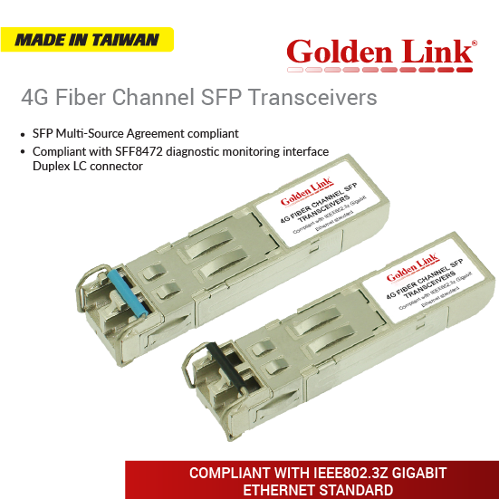 4G Fiber Channel SFP Transceivers